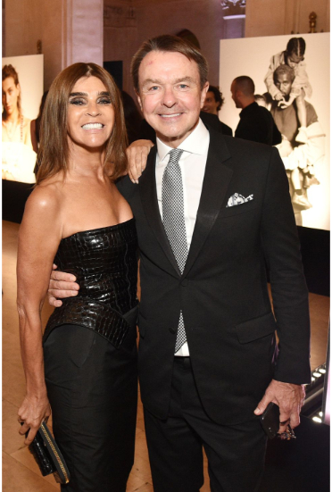 Carine Roitfeld and Michael Clinton