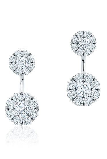 dijamantske minđuše