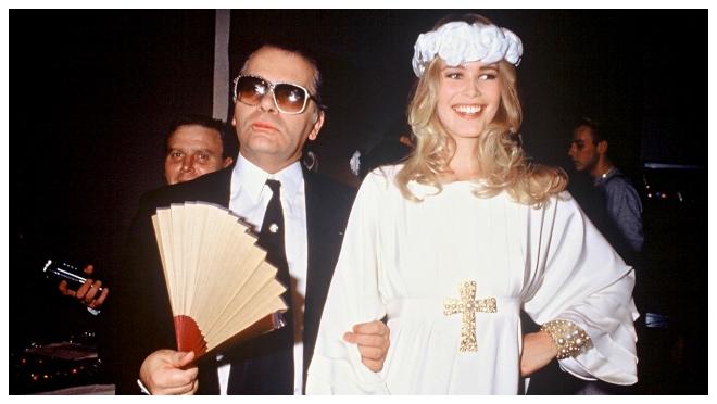 2 Lagerfeldu je bila inspiracija od početka karijere