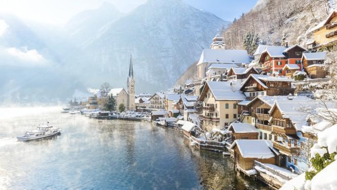 Halštat,  Austrija