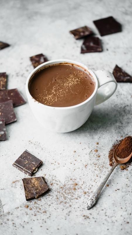 Veganska meksička topla čokolada