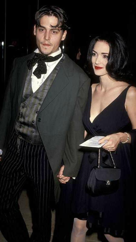 Winona Ryder i Johnny Depp