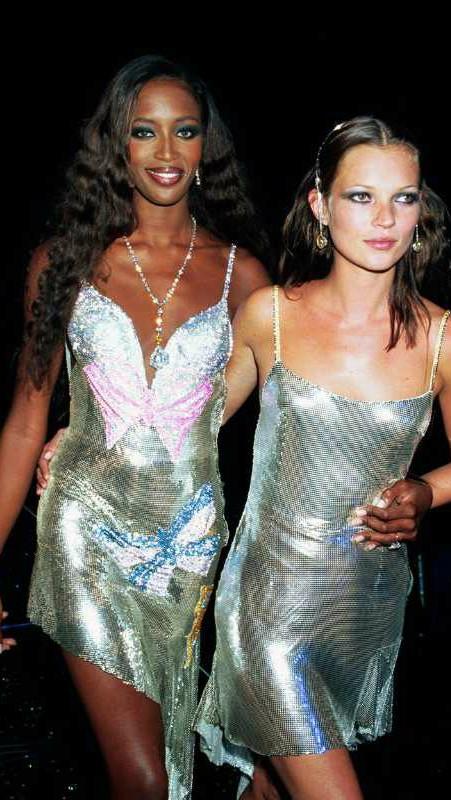 Naomi Campbell i Kate Moss