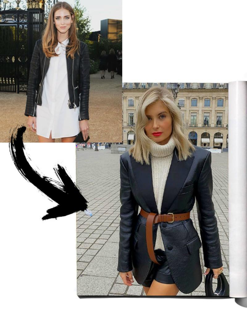 Kratke kožne jakne