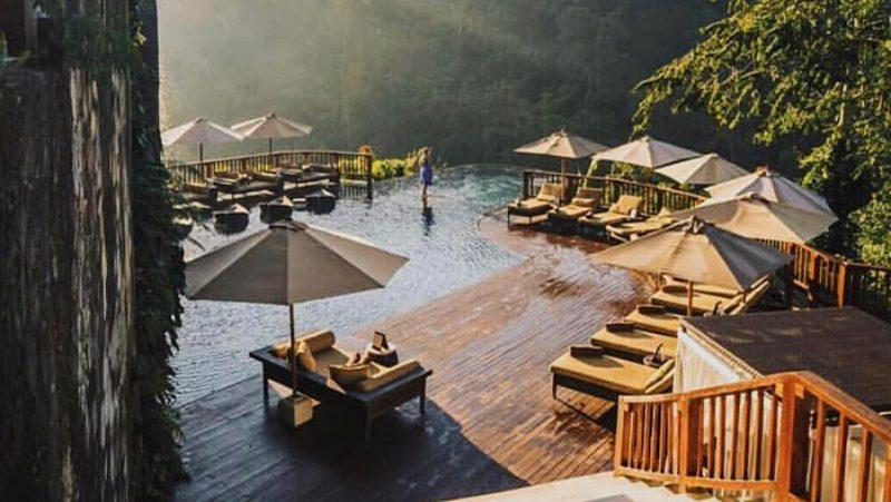 Hanging Gardens na Baliju