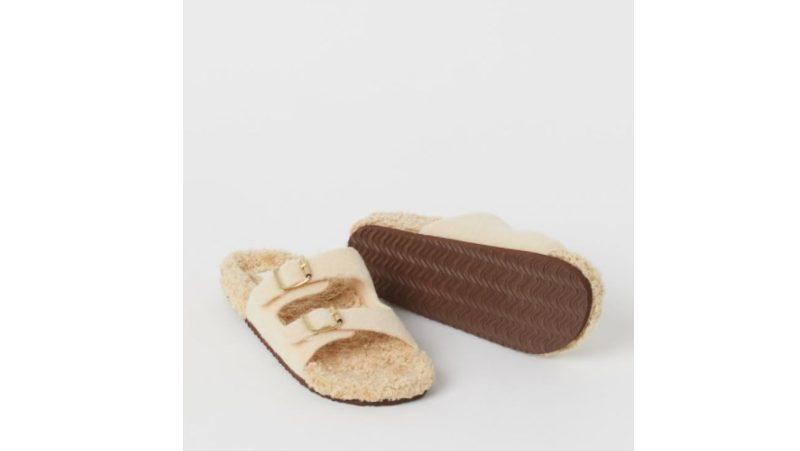 Papuče od krzna H&M