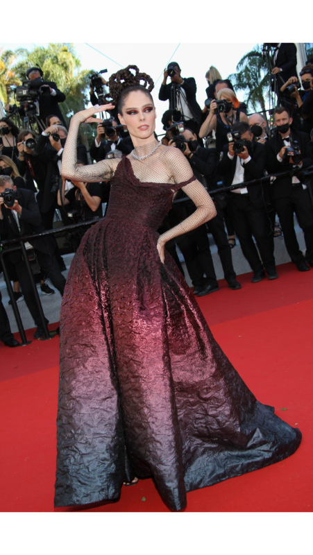Coco Rocha u Dior Couture kreaciji